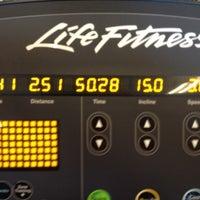 Photo taken at LA Fitness by Paul B. on 10/21/2012