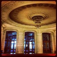 Photo taken at Palatul Parlamentului by Dana D. on 12/2/2012
