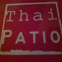 Photo taken at Thai Patio by Craig W. on 1/9/2013