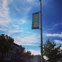 Photo taken at Grand St. by Douglas C. on 9/16/2013