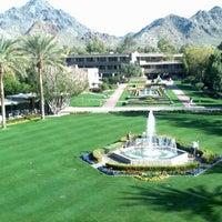 Photo taken at Arizona Biltmore, A Waldorf Astoria Resort by Wendy H. on 3/4/2013