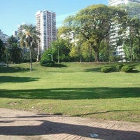 Photo taken at Plaza Barrancas de Belgrano by Danilo A. on 11/2/2012