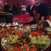 Photo taken at Marrakech Moroccan Restaurant by Demon 4. on 5/3/2014
