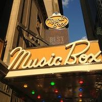 Photo taken at Music Box Theatre by Diablo on 6/19/2013