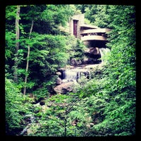 Photo taken at Fallingwater by Jason S. on 5/27/2013