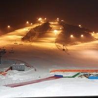 Photo taken at Alpensia Resort Ski Area by Mooseong K. on 1/12/2013