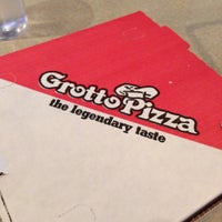Photo taken at Grotto Pizza by John T. on 5/3/2014