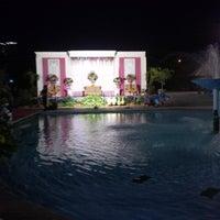 Photo taken at Kolam renang Unesa by Satria W. on 10/20/2013