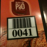 Photo taken at Além do Pão Delicatessen by Jean N. on 2/14/2013
