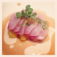 Photo taken at Uchi by jessica m. h. on 3/14/2013