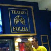 Photo taken at Teatro Folha by Renan F. on 3/3/2013