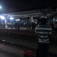 Photo taken at Thrissur Railway Station by Antony J. on 10/7/2012