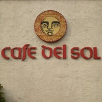Photo taken at Cafe Del Sol by Jen F. on 5/28/2013