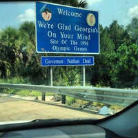 Photo taken at Florida / Georgia State Line by Fahad H. on 9/15/2013
