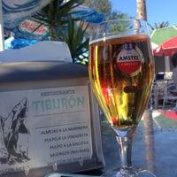 Photo taken at Restaurante El Tiburón by Borja on 7/12/2014