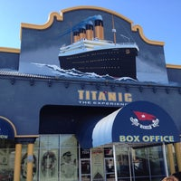 Photo taken at Titanic The Artifact Exhibition by Phil H. on 1/26/2013