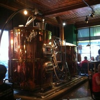 Photo taken at Bullfrog Brewery by Matt B. on 7/5/2013