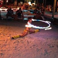 Photo taken at Nikki Beach Miami by Alina N. on 10/22/2012