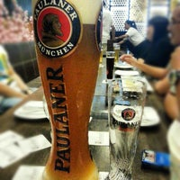 Photo taken at Brotzeit German Bier Bar & Restaurant by Cheryl L. on 2/5/2013