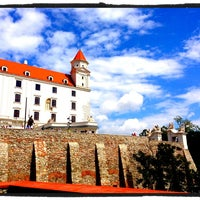 Photo taken at Bratislava Castle by Mimi S. on 5/18/2013