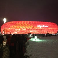 Photo taken at Allianz Arena by Christian S. on 2/27/2013