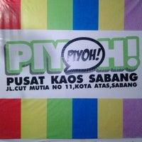 Photo taken at Piyoh Distro by Nova Indah S. on 2/23/2013