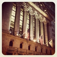 Photo taken at New York Stock Exchange by Gregg S. on 1/14/2013