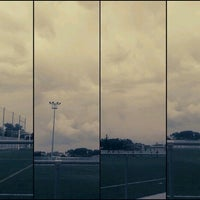 Photo taken at Camp De Futbol De St. Pere Pescador by Jaume S. on 9/7/2013