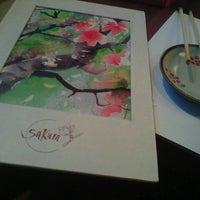 Photo taken at Sakura by Ana Zita F. on 12/12/2012