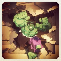 Photo taken at The Incredible Hulk Coaster by Andre F. on 5/29/2013