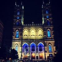 Photo taken at Notre-Dame Basilica of Montréal by Adam R. on 6/27/2013