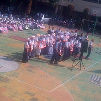 Photo taken at SMAN 2 Depok by Dyah R. on 8/22/2013
