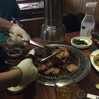 Photo taken at 포도식당 (ポド食堂) by muto .. on 8/18/2016
