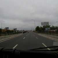 Photo taken at Autopista Vespucio Sur by Ana Maria M. on 2/17/2013