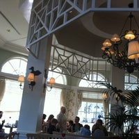 Photo taken at Grand Floridian Cafe by Sergio on 12/23/2012