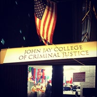 Photo taken at John Jay College of Criminal Justice by Jackie S. on 11/4/2012