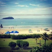 Photo taken at Praia da Baleia by Lilian B. on 2/16/2013