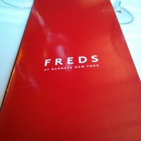 Photo taken at Freds at Barneys New York by Fred W. on 1/2/2013