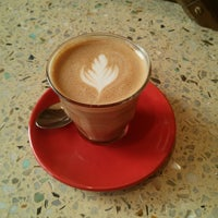 Photo taken at Kava Cafe by Fred W. on 5/13/2013