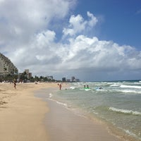 Photo taken at Fort Lauderdale Beach by meredith k. on 6/10/2013