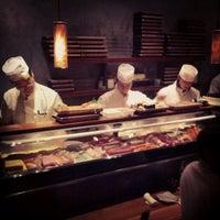 Photo taken at Blue Ribbon Sushi by Kyle W. on 1/28/2013