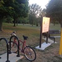 Photo taken at Robert A. Stuart Dog Park by Wally H. on 6/28/2012