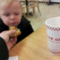 Photo taken at Five Guys by Herbie on 4/24/2014
