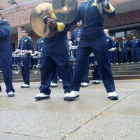 Photo taken at Revelli Hall by Patrick F. on 10/13/2012
