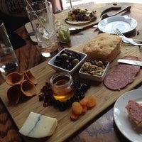 Photo taken at Bridge Tap House & Wine Bar by Angie C. on 5/26/2013