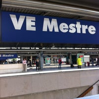 Photo taken at Venezia Mestre Railway Station (XVY) by Yoco M. on 5/22/2013