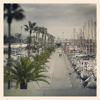 Photo taken at OneOcean Port Vell Barcelona by Dari G. on 2/8/2013