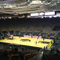 Photo taken at Carver-Hawkeye Arena by Michael P. on 12/22/2012