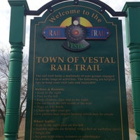 Photo taken at Vestal Rail Trail by Michael W. on 3/10/2013