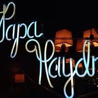 Photo taken at Papa Haydn by Matthew B. on 10/19/2013
